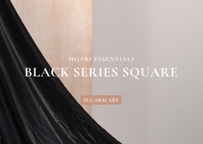 Hijabi Essential: Black Series Square