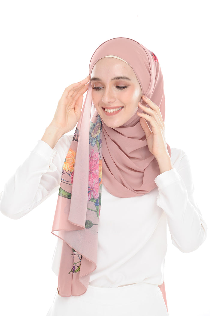 BeeAmazing [Shawl] - Rose Pink