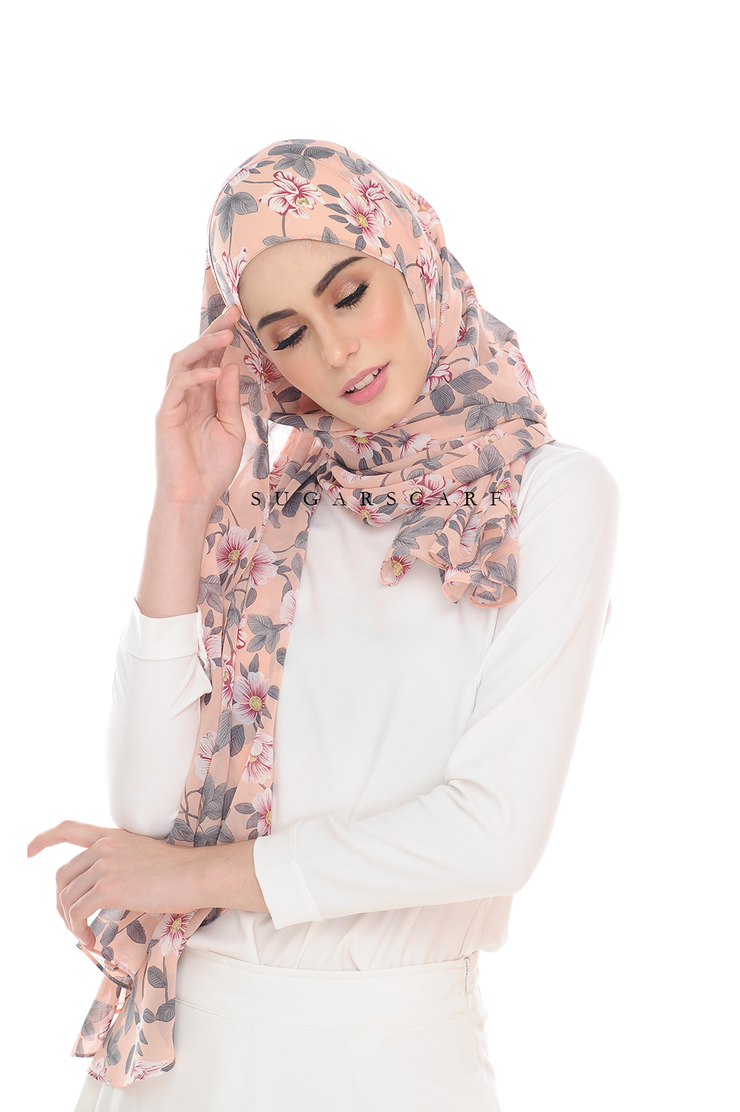 Sugarscarf BasicPrints Alisa Shawl - Anne