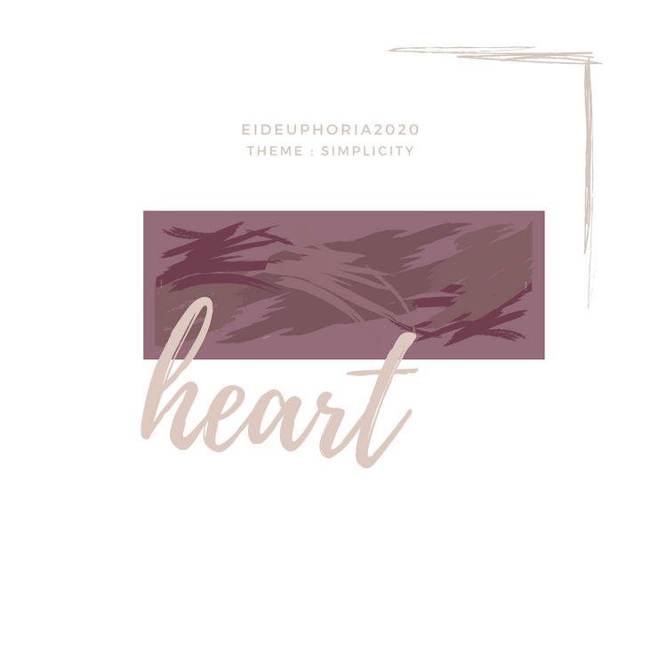 EidEuphoria Simplicity Long Scarf In (Heart)