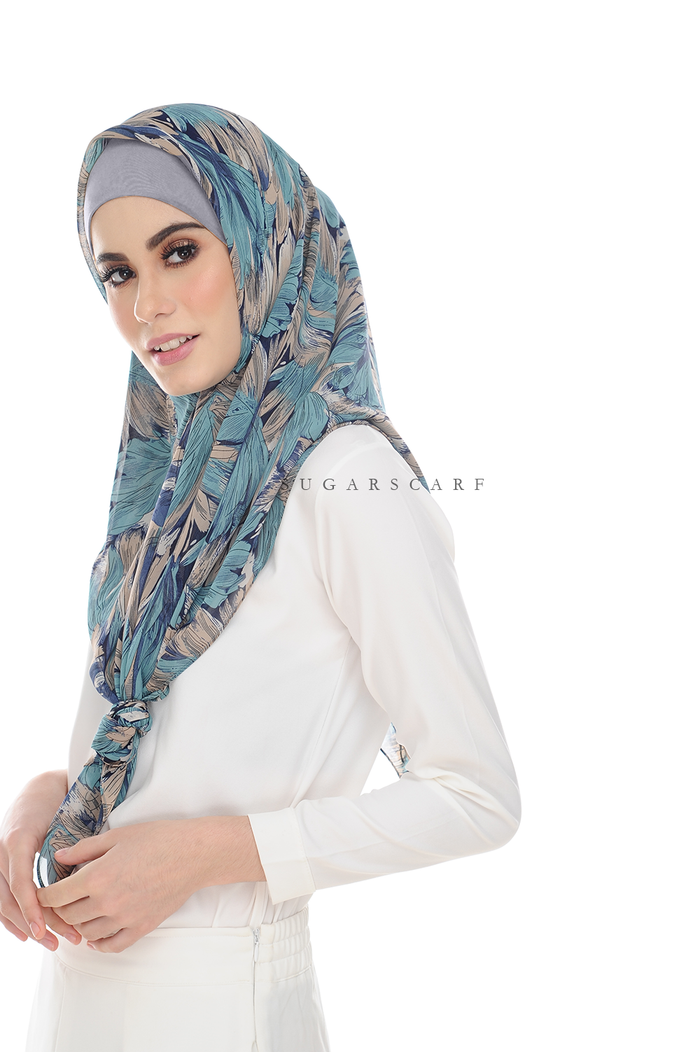 Sugarscarf BasicPrints Alisa - Square BlueHeaven