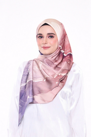 ( Square )  Dolce Stardust Mixed Satin Silk ( Crystal Lyra )