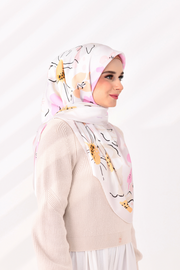 Delicate collection in Lovely Eunia (White series square)