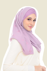 VM Instant Shawl Butterfly CutOut ( Orchid Pillow )