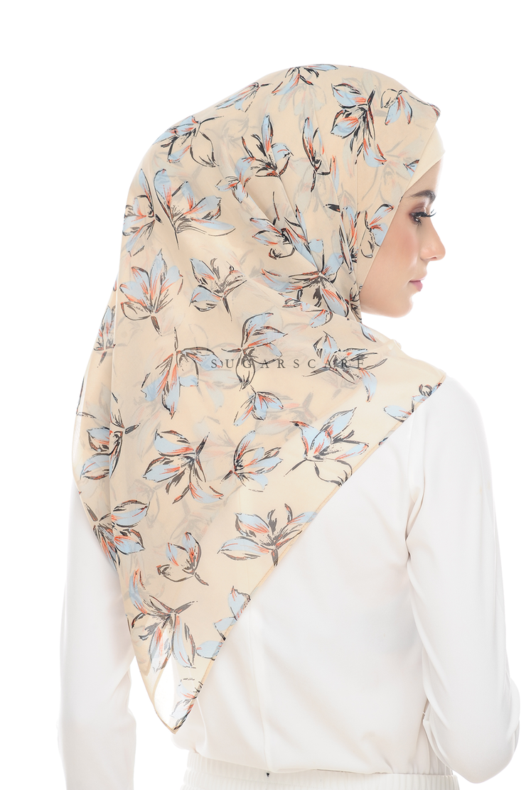 Sugarscarf BasicPrints Alisa - Square Milky Way