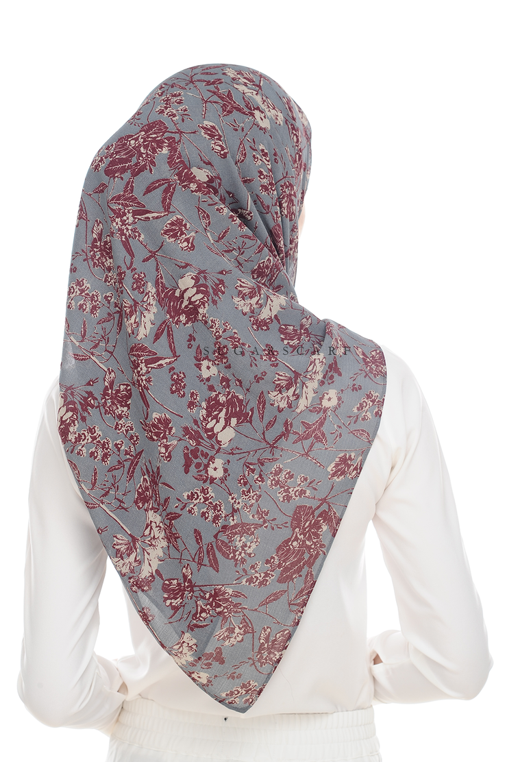 Sugarscarf BasicPrints Alisa - Square SuperFlower