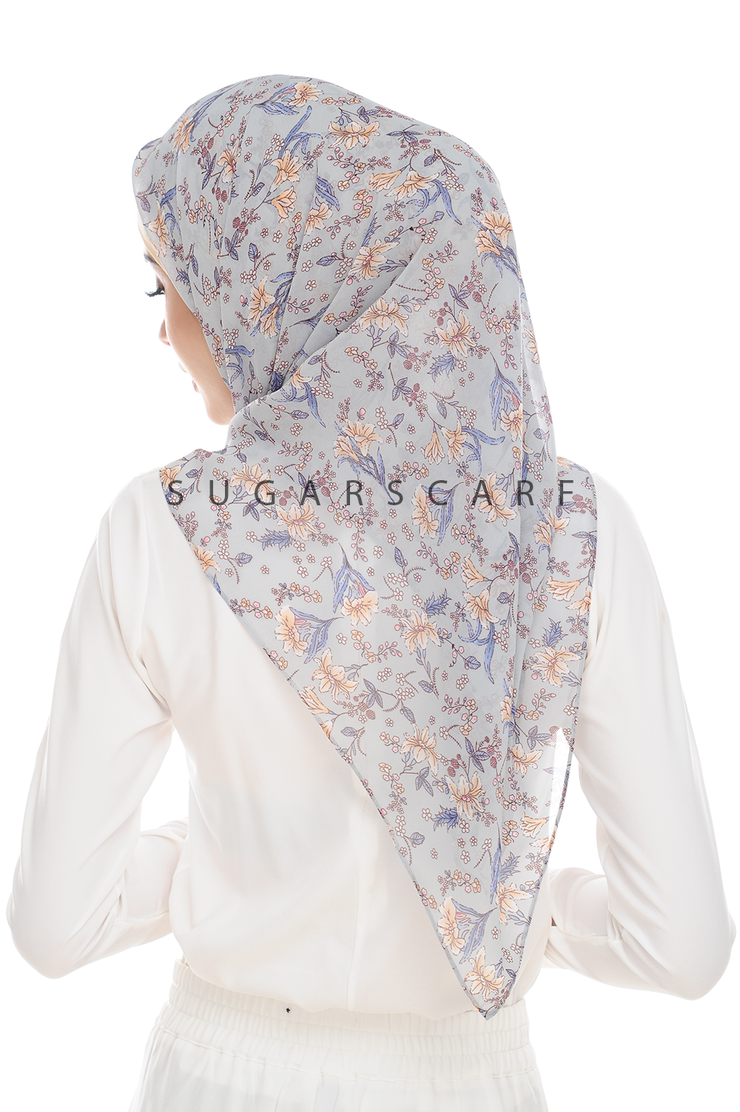 Sugarscarf BasicPrints Alisa - Square Morning Glory
