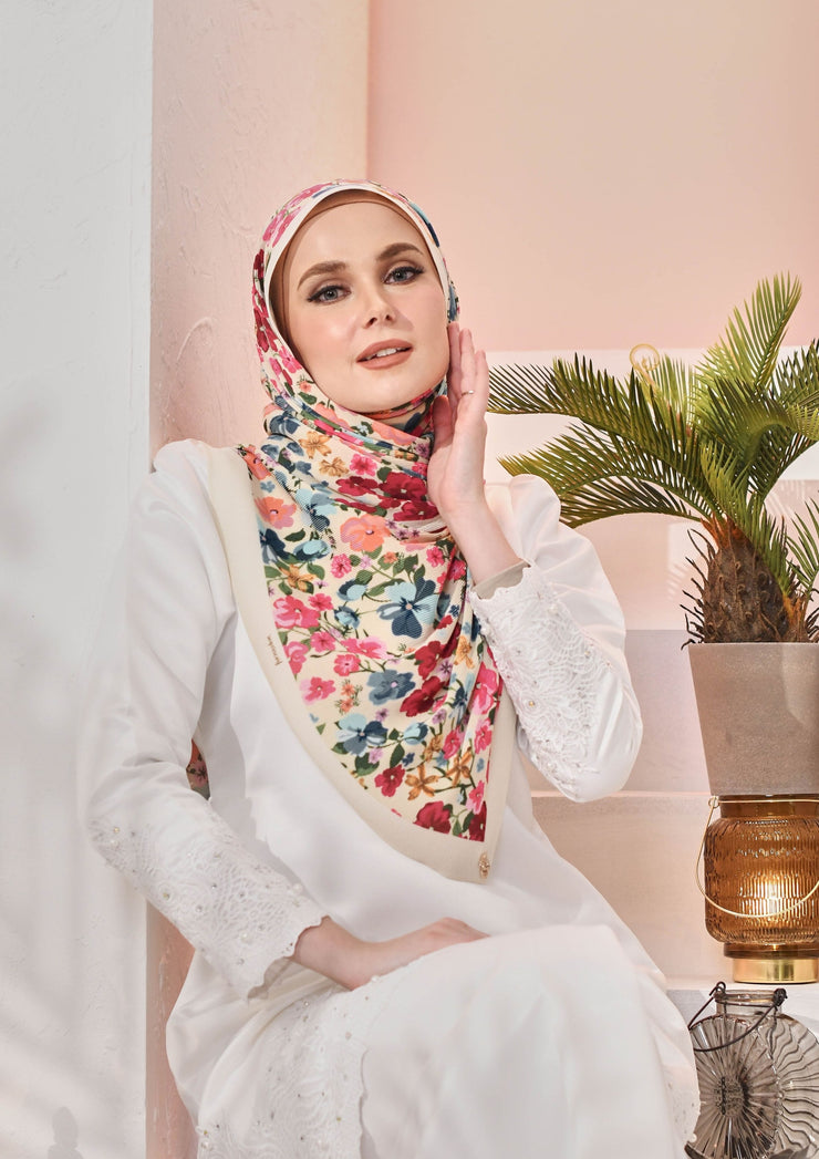 (Full Pleats ) BLOOMING EID Shawls in LILLIAS ( Preorder order end of april)
