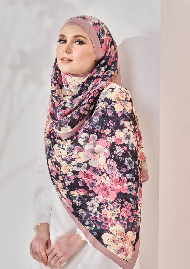 (Full Pleats ) BLOOMING EID Shawls in DAFFODIL