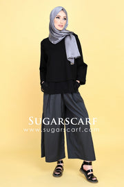 Kayla Top Black - Sugarscarf