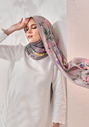 (Full Pleats ) BLOOMING EID Shawls in ANNIE