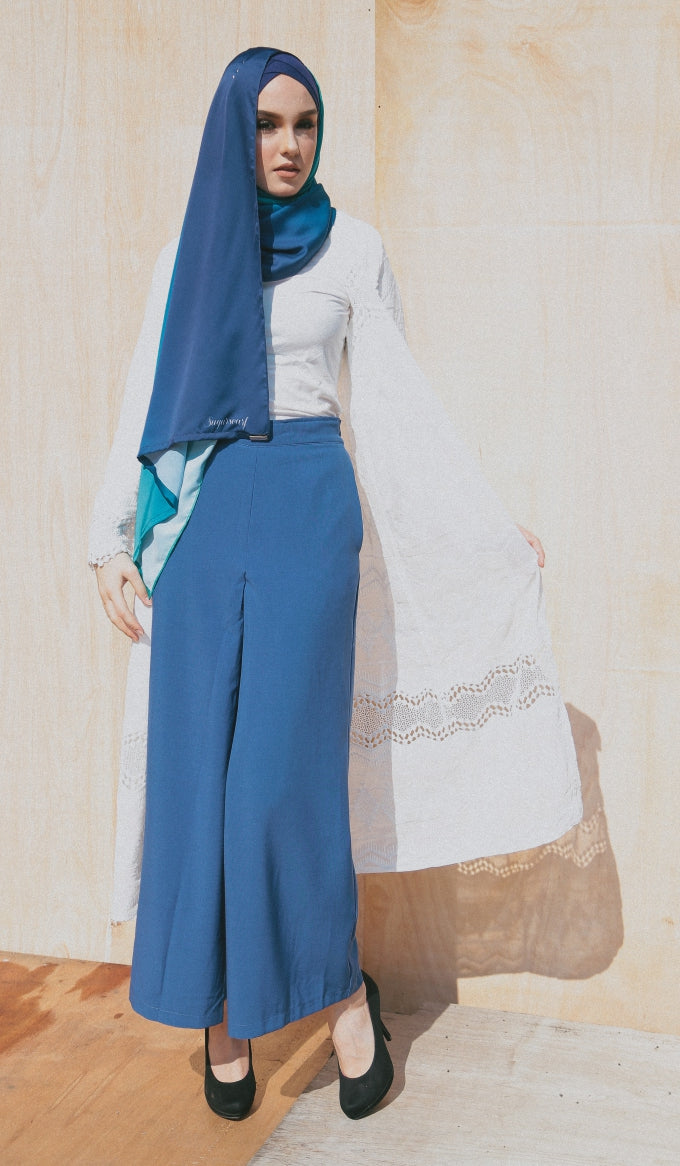 BLUE CHARLOTTE PANTS - Sugarscarf