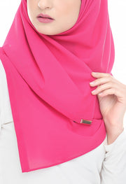 CS Instant Shawl MADISON CLASSIC PINK PEONIES - Sugarscarf