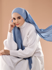 Breeze Wide Full Pleats Shawl - Bell Air