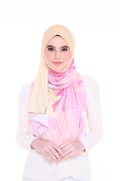 PREORDER Julia Round Pinless Semi Instant Shawl EUPHORIA Creative( Send before 6th May)