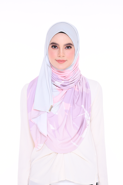 PREORDER Julia Round Pinless Semi Instant Shawl EUPHORIA Inspired (send before 6th may)
