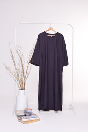 Kendal 3/4 Dress in DarkPurple