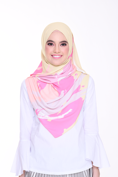 (Shawl) Euphoria Korean Chiffon ( Creative )