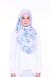 ( Glacier Garden ) Julia Round Awning Pinless Semi Instant Shawl