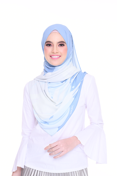 (Shawl) Euphoria Korean Chiffon ( Cool )