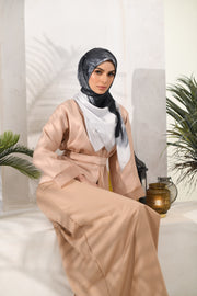Eid of Hope Square Mixed Satin Silk in Almond London