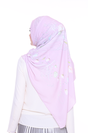 ( Long Shawl ) Chic Traveller in DustyPink ( not bright pink )