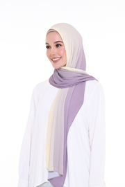 Ombre Small Pleats Shawl - DayDream
