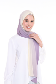 Lapez Ombre Small Pleats Shawl - Slurpy