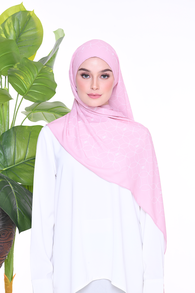 Monogram Louisa (SHAWL ) - Mellow Rose