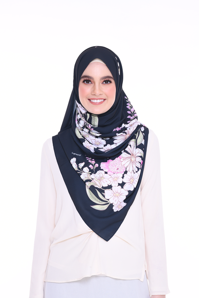 Long Shawl Felicity Black Exclusive Raya