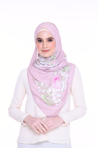 Long Shawl Felicity RoseBeige Exclusive Raya