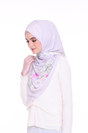 Long Shawl Felicity Taupe gray Exclusive Raya
