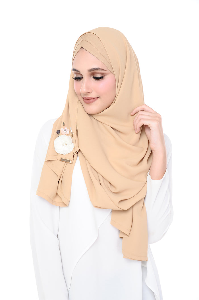 Madison 3D Pudding (TieBack) - Beige
