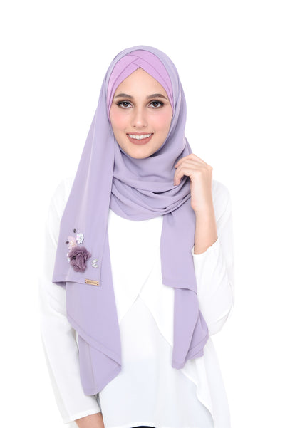 Madison 3D Lavender Grey  (TieBack)