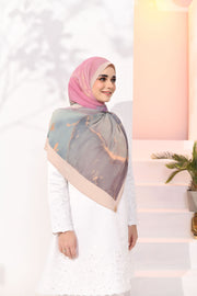 EID DOLCE Pleats Long Shawl in PadelPop