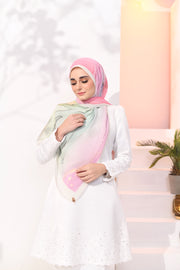 EID DOLCE Pleats Long Shawl in AisKacang