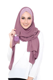 CS Madison 3D Ribena (TieBack) - Purple - Sugarscarf