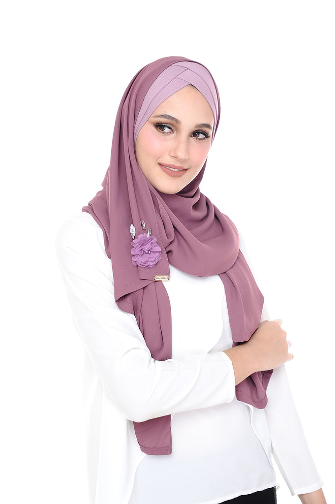 Madison 3D Ribena (TieBack) - Purple