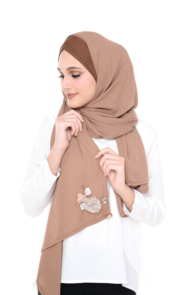 CS Madison 3D ChocolateCookies (TieBack) - Sugarscarf