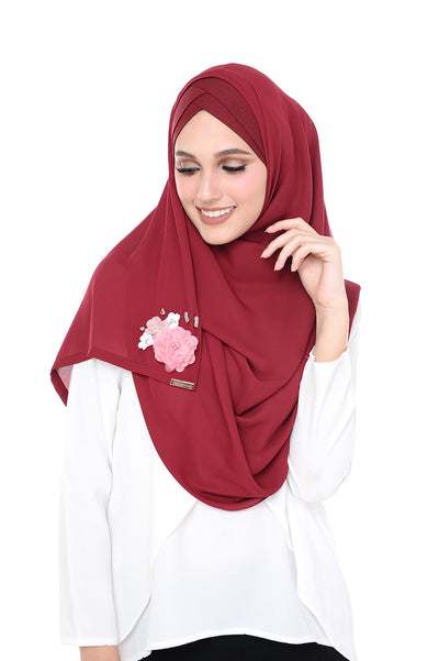 CS Madison 3D MorrocoRed (TieBack) - Sugarscarf