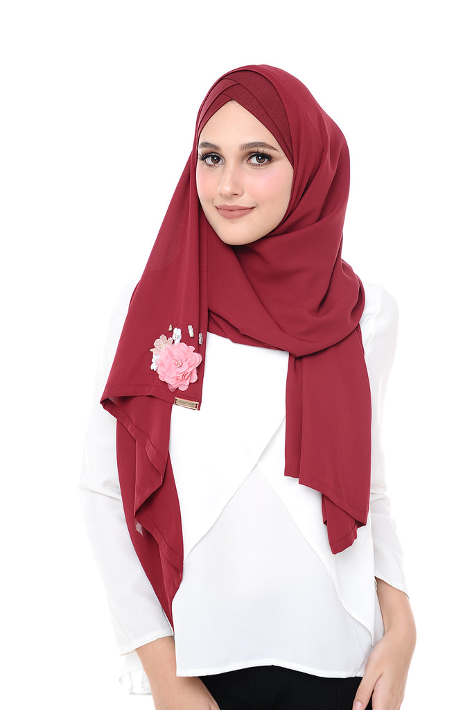 Madison 3D MorrocoRed (TieBack) - ( Get RM40 for every 2 pcs)