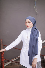 Breeze Pleats Long Shawl (Small) in Hook In You