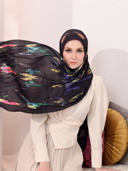 (Full Pleats) MOORISH Shawls in Arabian Night