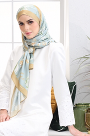 Long Shawl Mixed Satin Silk XENA