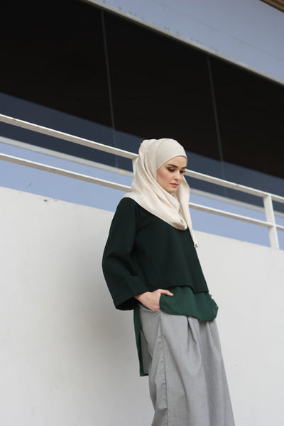 Kayla Top Green - Sugarscarf