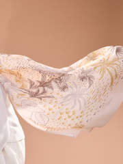 Tropical Lux Mixed Satin Silk ( Shawl ) - Gaya Island