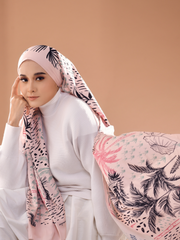 Tropical Lux Mixed Satin Silk ( Shawl ) - Perhentian