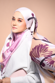 (Shawl ) FOREVER Mix Satin Silk Scarf in Isn't It Romantic