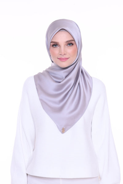 ( Shawl ) Just Matte Satin Basic - MoonGlow
