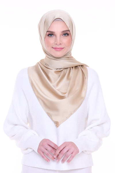 ( Shawl ) Just Matte Satin Basic - Famous